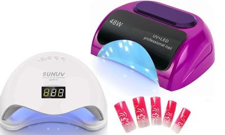 Lampada UV a LED asciuga smalto disponibile in 2 modelli