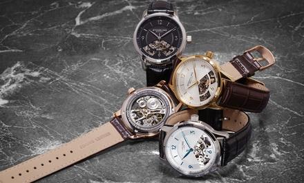 499 zł zamiast 2700 zł: zegarek męski Stuhrling Original z kolekcji Legacy – 4 modele