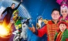 The Great Benjamins Circus   - Multiple Locations: The Great Benjamins Circus for Two Adults and Three Children (September 21–October 15)