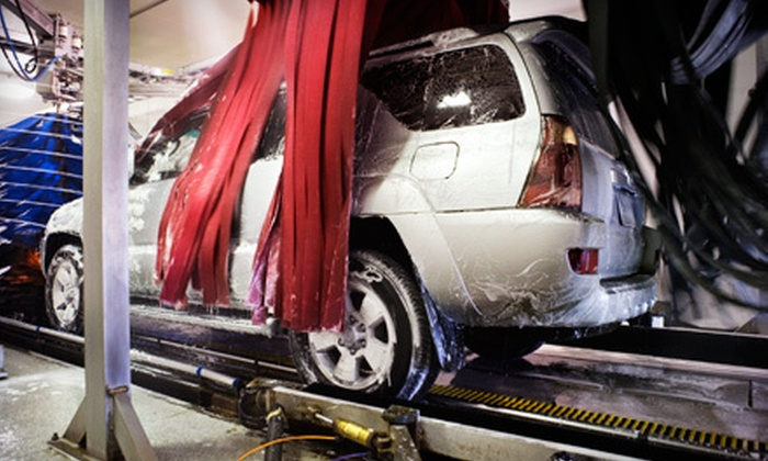 Grand Prix Car Wash - Deerfield: $27 for Three The Works Car Washes with a Five-Day Clean Guarantee at Grand Prix Car Wash ($59.85 Value)