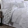 Venice and Ella Pinch Pleat Comforter Set (7-Piece)