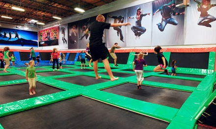 Two Hours of Jump, Play or Combo Activity for One or Two at Elevated Sportz (Up to 42% Off)