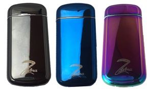 Flameless Rechargeable Windproof Double Arc Shake Lighter