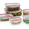Plastic Food Storage Container Set (16-Piece)