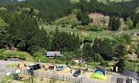 豊かな自然に抱かれて家族や仲間とキャンプ。ドッグランなどアクティビティの楽しみも充実。≪オートキャンプ1区画≫ @楓香荘