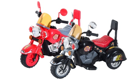 HomCom Children's Electric RideOn Retro Toy Motorbike With Free Delivery