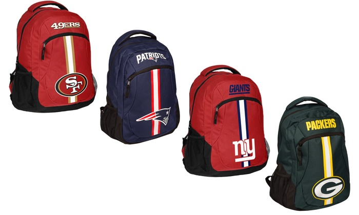 0e3e59db032 Up To 34% Off on NFL Action Stripe Logo Backpack