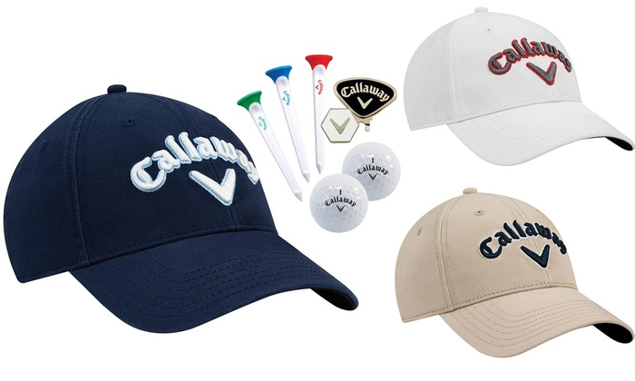 098f0ae443d52 Up To 35% Off on Callaway Golf Tour Hat Gift Set