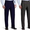 Bonelli Men's Classic-Fit Pleated Dress Pants (2-Pack)