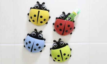 Ladybird Toothbrush Holder