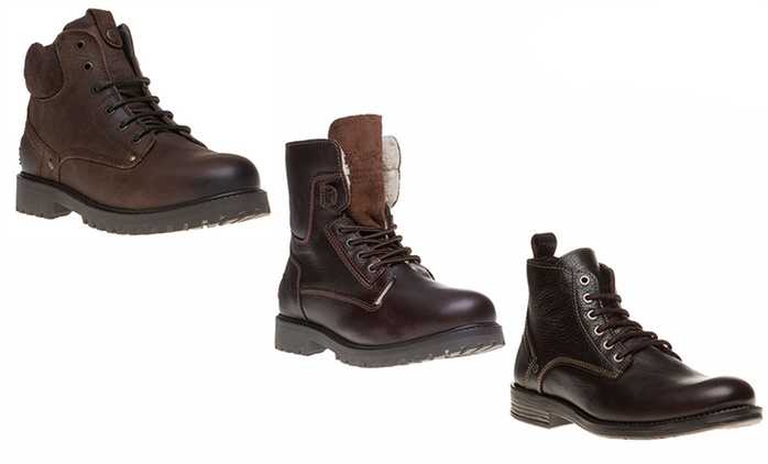 Wrangler Men's Boots for £44.99 With Free Delivery (Up to 39% Off)