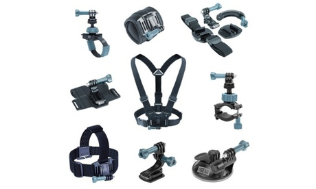 USA Gear 9-in-1 Professional Action Mount Bundle Kit 1b407436-8ea4-4db3-9006-cf6d3fc13b8a