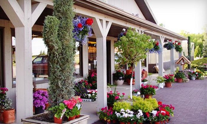 The Garden Mart - Mukwonago: $15 for $30 Worth of Plants and Garden Supplies at The Garden Mart in Mukwonago