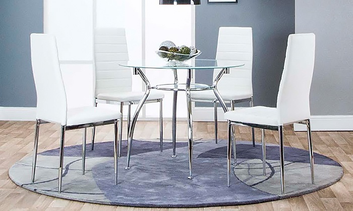 Dining Room Set 5 Piece Lyns Furniture Opa Locka Groupon
