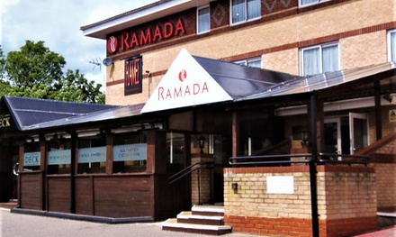 London: King-Size Double Room for Two with Breakfast, Wine and Late Check-Out at Ramada London Finchley