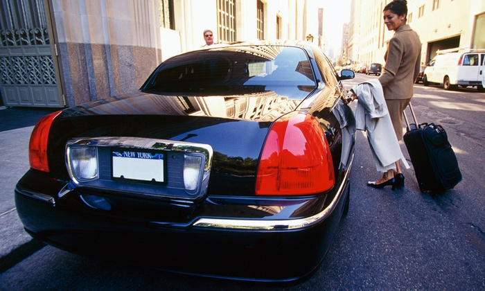 A&H Towncar - Orange County: $75 for Drop-Off Car Service to LAX Airport from A&H Towncar ($150 Value)