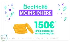 Économisez 150 € sur vos factures d'électricités