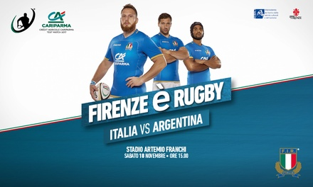ItalRugby vs Argentina e Sud Africa