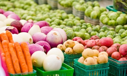 $6 for $10 Worth of Farmers' Market Goods — Stockton Certified Farmers' Market Association