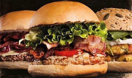 Hosteria Moderna Montebelluna - Menu burger gourmet con antipasto, hamburger a scelta, dolce e vino (sconto 56%)
