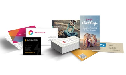 100, 250, or 500 2-Sided Business Cards from Eagle Printing (Up to 50% Off)