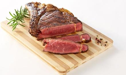 Côte de bœuf, frites maison et salade méditerranéenne pour 2 ou 4 personnes dès 29,90 € au restaurant L'entr'acte