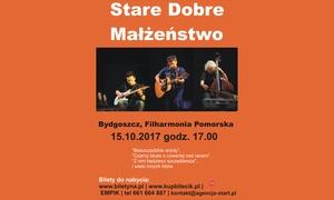 Agencja Artystyczna Start: 55,99 zł: bilet na koncert zespołu Stare Dobre Małżeństwo w Filharmonii Pomorskiej w Bydgoszczy (zamiast 75 zł)