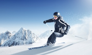 Hope on the Slopes, Ski & Ride for a Cure: Virtual Vertical Challenge for One or Two at Hope on the Slopes, Ski & Ride for a Cure (46%  Off)