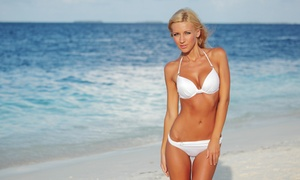 Sun Kissed Tanning & Beauty: One or Three Spray Tans at Sun Kissed Tanning & Beauty (Up to 52% Off)