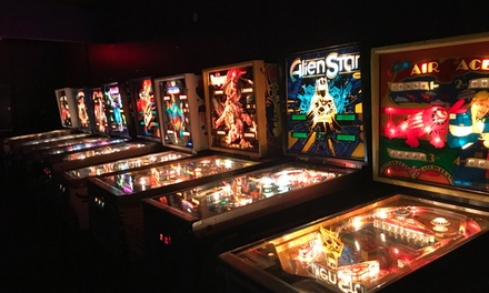One-Hour Pass for One, Two, or Four to Portal Pinball Arcade (Up to 41% Off)
