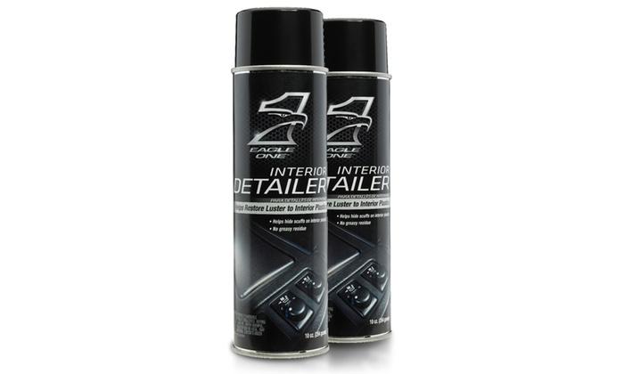 eagle one vehicle interior detailer spray 2 pack groupon. Black Bedroom Furniture Sets. Home Design Ideas