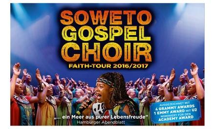 2 Tickets für Soweto Gospel Choir am 30.12.2016 um 20 Uhr in der König-Pilsener-Arena in Oberhausen (30% sparen)