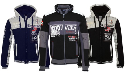 Sweat de la marque Geographical Norway collection Gavrilos ou Geecker