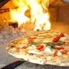 Pizza cotta in forno a legna a Montebelluna