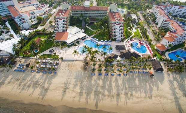 TripAlertz wants you to check out ✈ 3-Night Occidental Nuevo Vallarta All-Inclusive Trip with Airfare. Price per Person Based on Double Occupancy.  ✈ Occidental Nuevo Vallarta Trip w/ Air from Travel by Jen - All-Inclusive Mexico Vacation