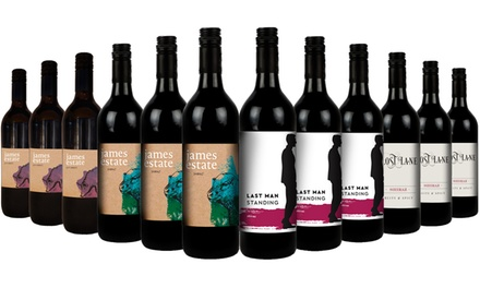 $65 for 12-Pk Best Value James Estate Hunter Valley Wines: Whites, Reds, or Red and White Mixed (Don't Pay $240)