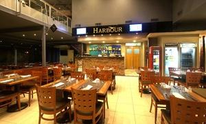 Harbour Florida: Desde $189 por papas cheddar + pizza grande + 1 litro de cerveza para dos o cuatro en Harbour Florida