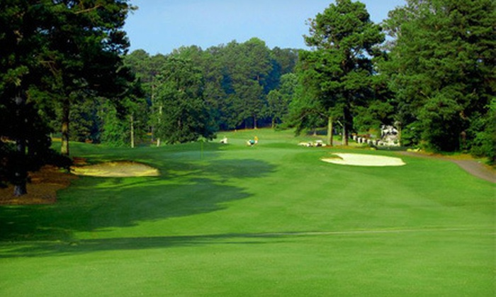 Lake Spivey Golf Club - Jonesboro: 18-Hole Round of Golf for Two or Four Including Cart Rental and Drinks at Lake Spivey Golf Club (Up to 52% Off)