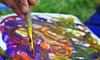 Liliana Perez - Trenton: Two-Hour Saturday BYOB Painting Class for One or Two from Liliana Perez (50% Off)