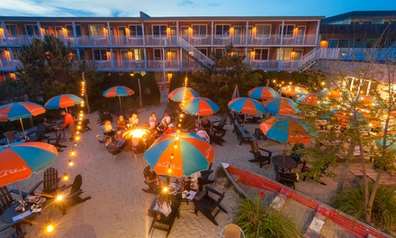 Stay at Beach Shack in Cape May, NJ. Dates into November.