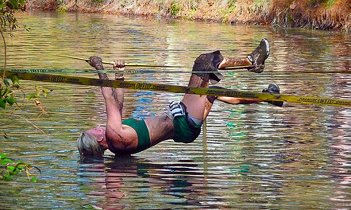 FL.ROC Running Obstacle Challenge - Bunnell: Mud-Run Entry with T-shirt for One or Two to the FL.ROC Running Obstacle Challenge (Up to 59% Off)