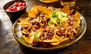 Sangrita Tequila Bar: Starter Platter to Share, with a Main Meal and Drink Each for Two from R219 at Sangrita Tequila Bar (Up to 48% Off)