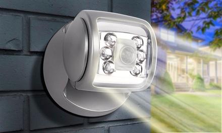 1 a 2 luci LED rotanti con sensore a batterie