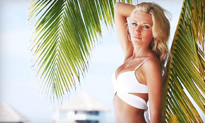 Bronzed And Bedazzled - Legends: One or Three In-Home Spray Tans or an In-Home Spray-Tan Party from Bronzed and Bedazzled (Up to 55% Off)