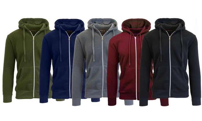 e4c23159 Up To 70% Off on Men's Slim-Fit Hoodies | Groupon Goods