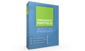 SpreadsheetPortfolio: $5 for a Stock Analyzer and Training Tool from SpreadsheetPortfolio ($97 Value)