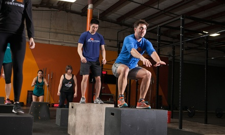 One or Three Months of Unlimited CrossFit Classes at Fortitude Fitness Crossfit 78702 (Up to 62% Off)