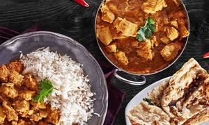 Tandoor Masala: Menú hindú para 2 o 4 con aperitivo, entrante, principal, acompañamiento, postre y bebida desde 19,90€ en Tandoor Masala