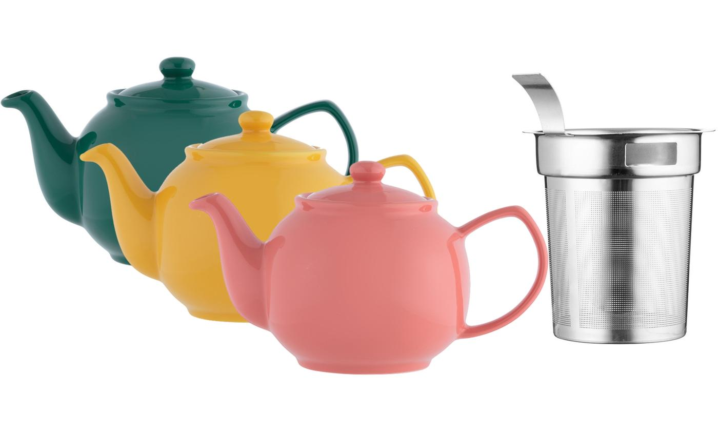 Price and Kensington Six-Cup Teapot with Filter