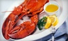 Whale Raw Bar and Fish House - Parkland: Lobster Dinner for Two with Drinks on Sunday–Thursday or Friday–Saturday at The Whale Raw Bar and Fish House (54% Off)